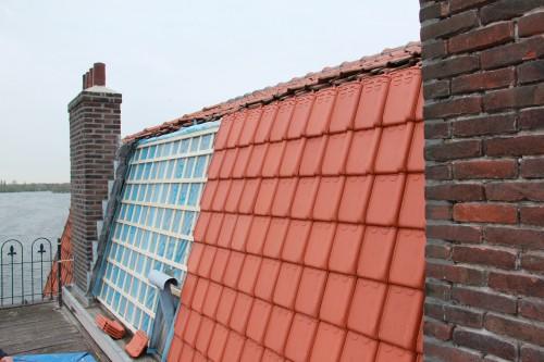 Dakrenovatie Prins Bernhardkade - aannemersbedrijf Joh Visser & Zoon Rotterdam