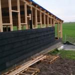 Schuur bouwen - Hout geraamte - 09 - wanden houten schuur